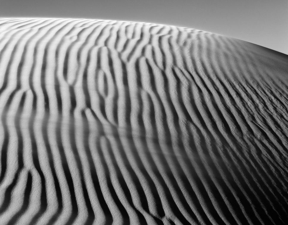 Sanddüne mit Windb